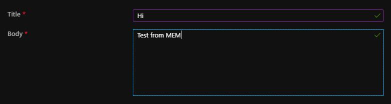 Custom notifications 2